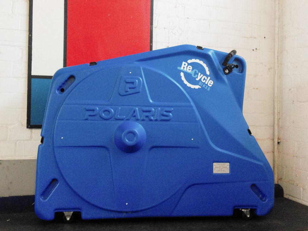 Blue Polaris Bike Pod